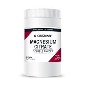 Magnesium Citrate Soluble Powder - Hypoallergenic