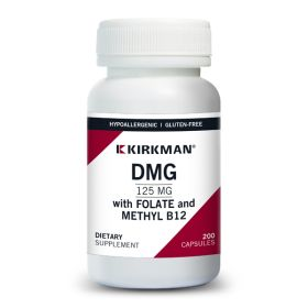 DMG 125 mg with Folate and Methyl B-12 - Hypoallergenic