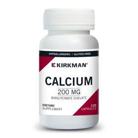Calcium Bisglycinate Chelate 200 mg (Without Vitamin D-3) - Hypoallergenic