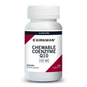 Coenzyme Q10 100 mg Chewable Tablets (with Stevia)